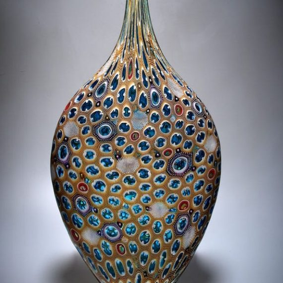 Blown glass; murrine Persistence by David Patchen