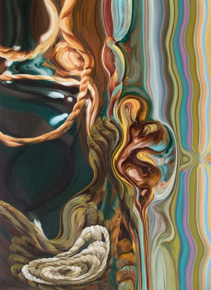 Oil on canvas A0603 by Susan Brenner