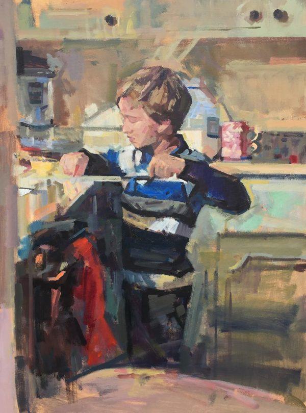 Acrylic on canvas work by James Erickson