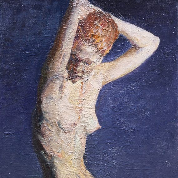 Oil on canvas Figure by Greg Siler