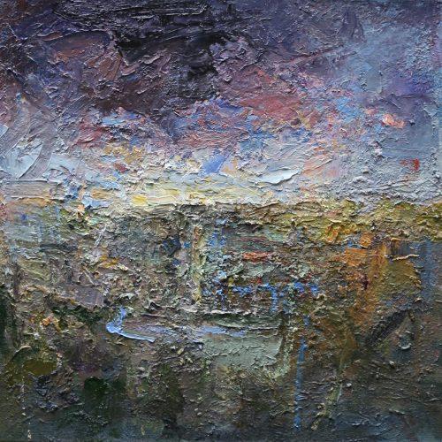 Oil on canvas i Landscape by Greg Siler