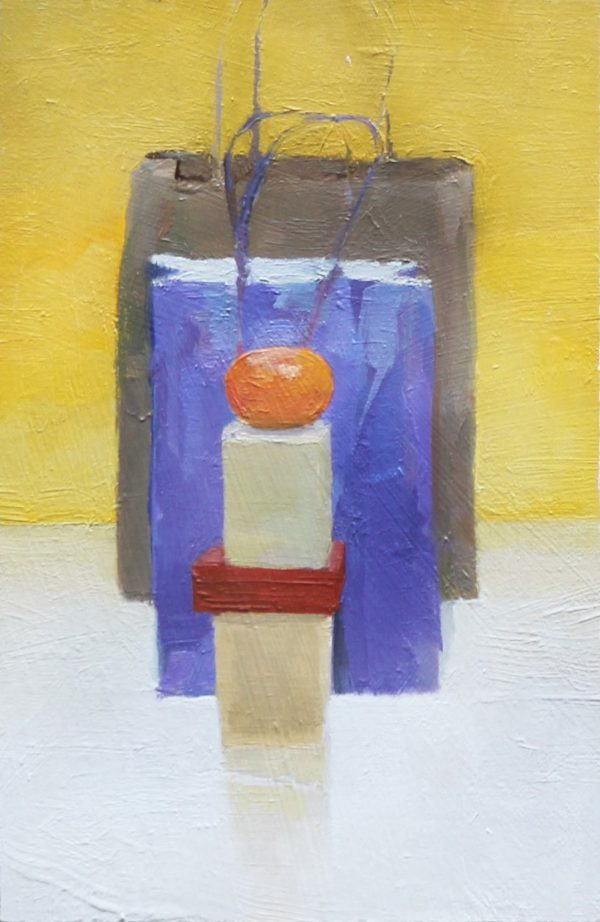 Oil on paper on board Study of a Still Life by Greg Siler