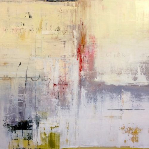 Oil and graphite on canvas Error by Greg Siler