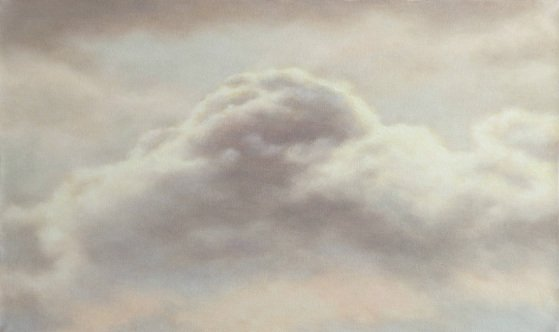 Painting of clouds by John Folchi